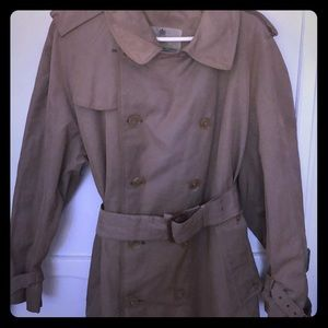 Aquascutum London Long Raincoat